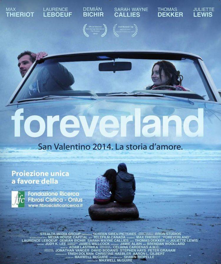 A San Valentino FFC Onlus porta in Italia Foreverland, una storia d'amore per la vita