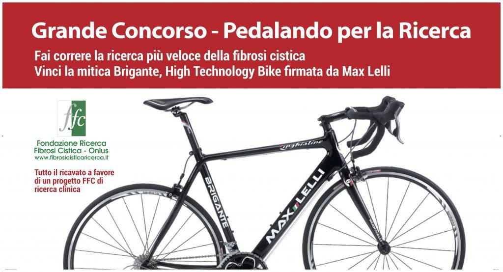 Cartolina concorso pedalando per la ricerca
