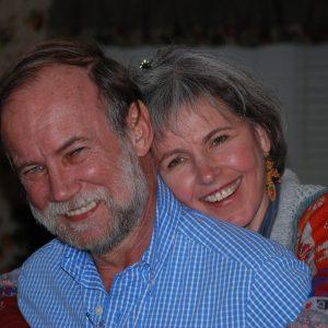 Paul Quinton con moglie