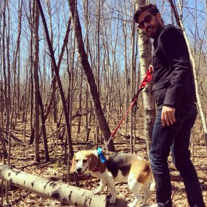 Maxwell e il suo cane