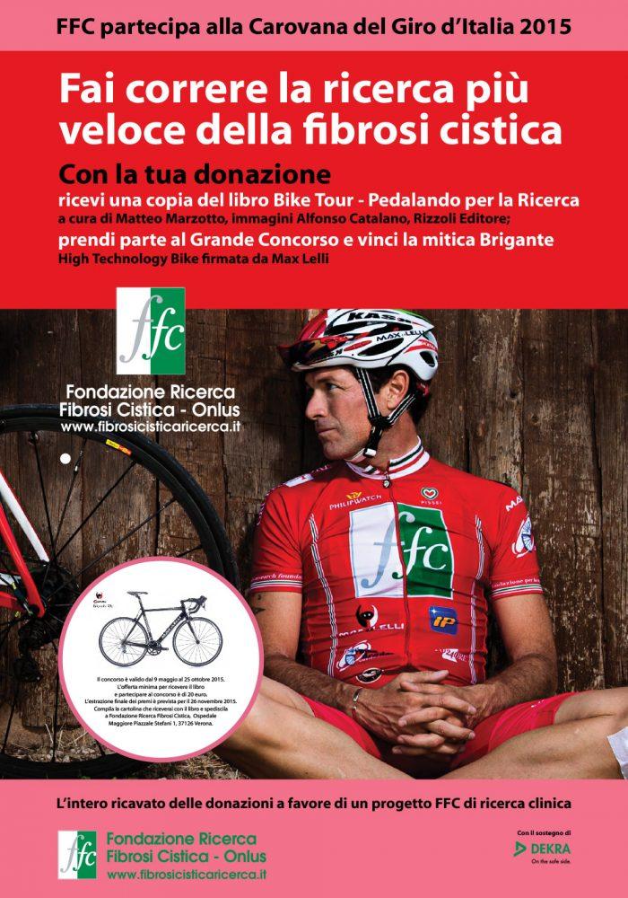 FFC nella Carovana solidale del Giro, con il contributo di Dekra