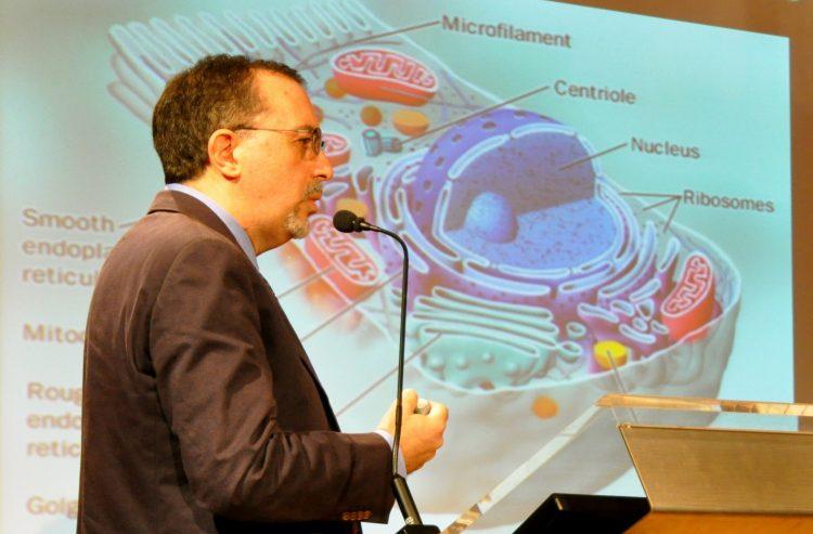 Il ricercatore Luis Galietta ospite di Elisir, su Rai 3