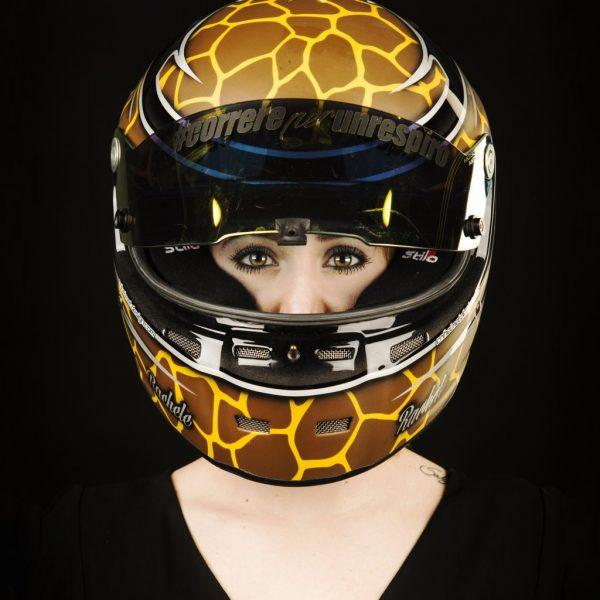 il casco di Rachele