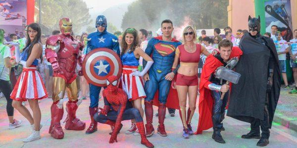 I supereroi. Marafibrositona 2016