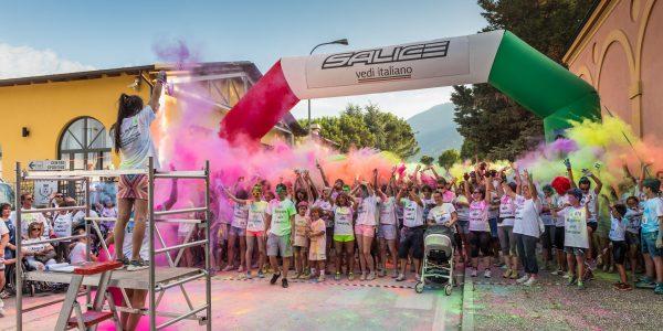 Colour run. Marafibrositona 2016
