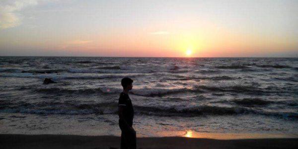 Federico al mare