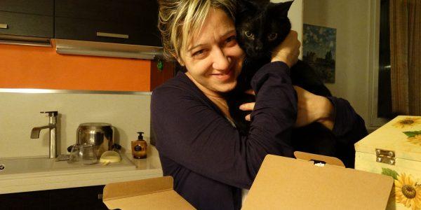 Claudia con gatto