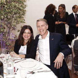 Teresa Pastena con il marito Paul