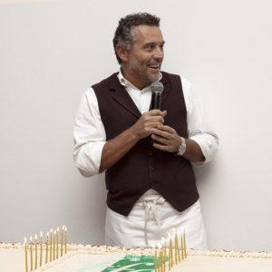 Lo chef Giancarlo Perbellini