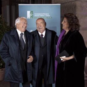 Enzo Fabietti, Vittoriano Faganelli, Morena Morabini