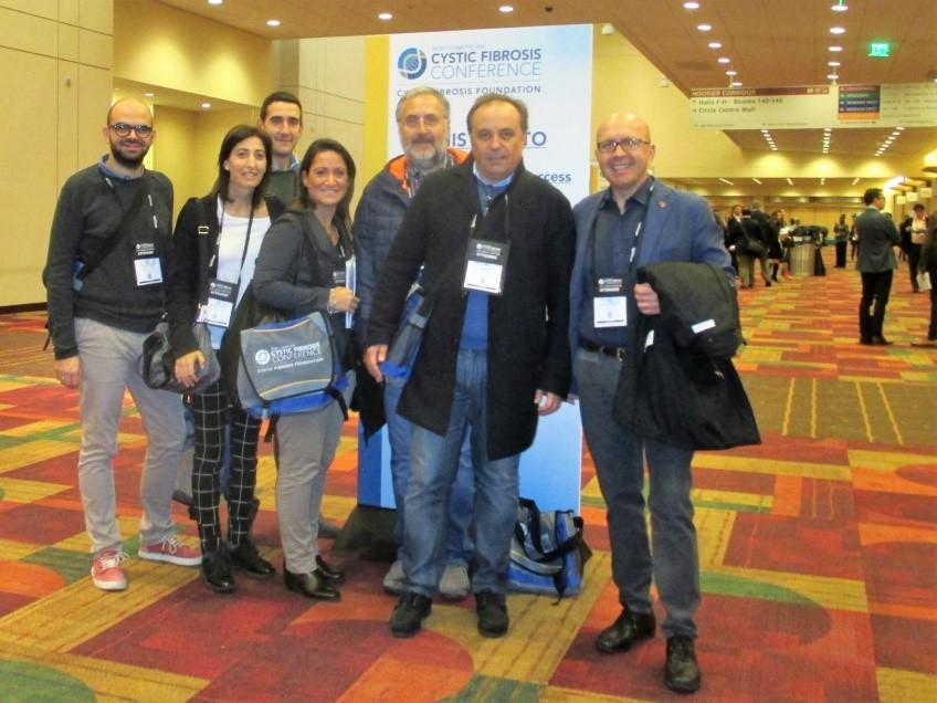 Gruppo ricercatori a Indianapolis