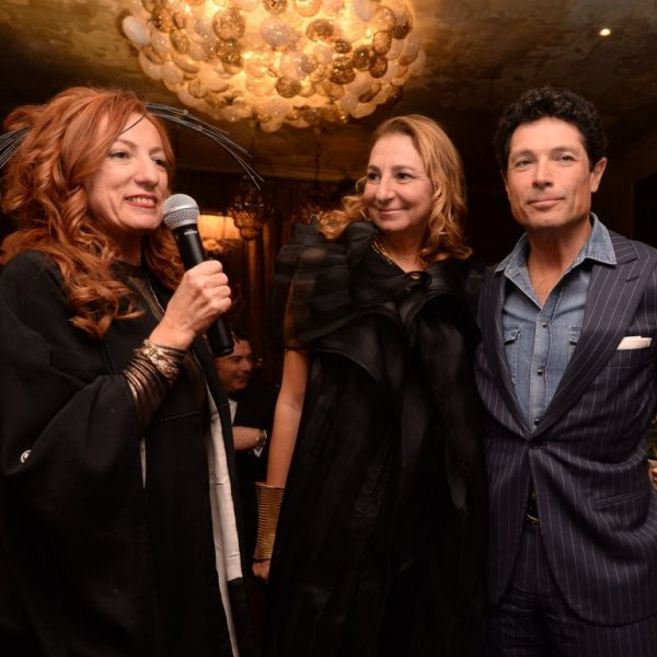 Hotel Metropole - Sparkling December Cocktail & Dinner Party 2017: Gloria Beggiato, Diamante Marzotto, Matteo Marzotto