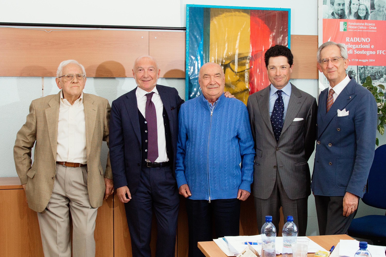 Gianni Mastella, Paolo Faganelli, Vittoriano Faganelli, Matteo Marzotto, Romano Michele