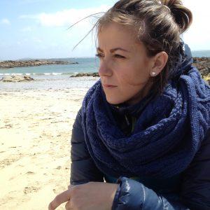 Giulia al mare