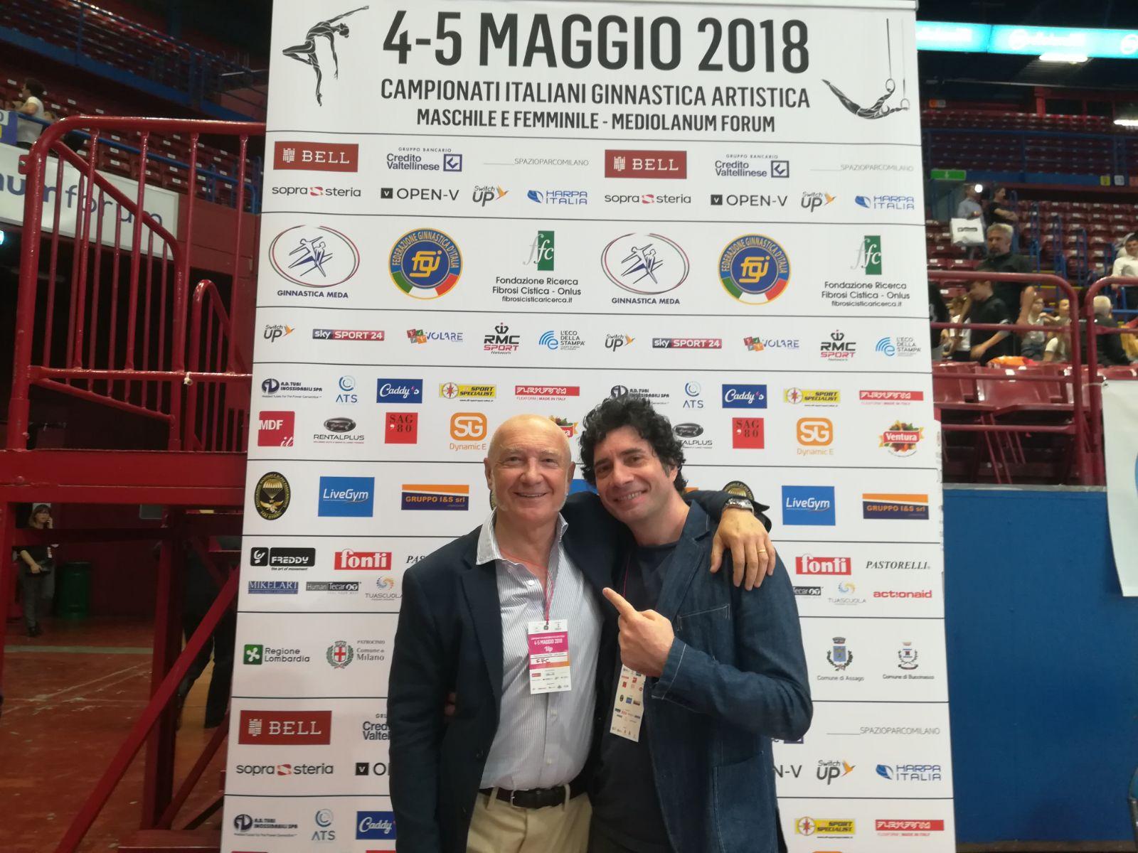 Paolo Faganelli e Piero Salvatori