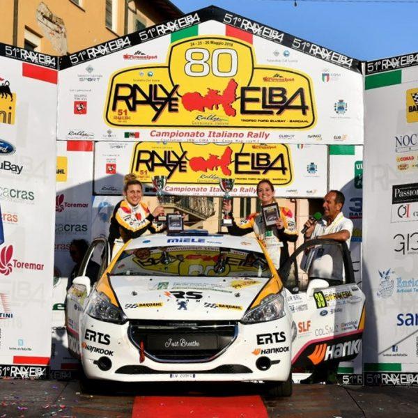 Podio rally Isola d'Elba 2018