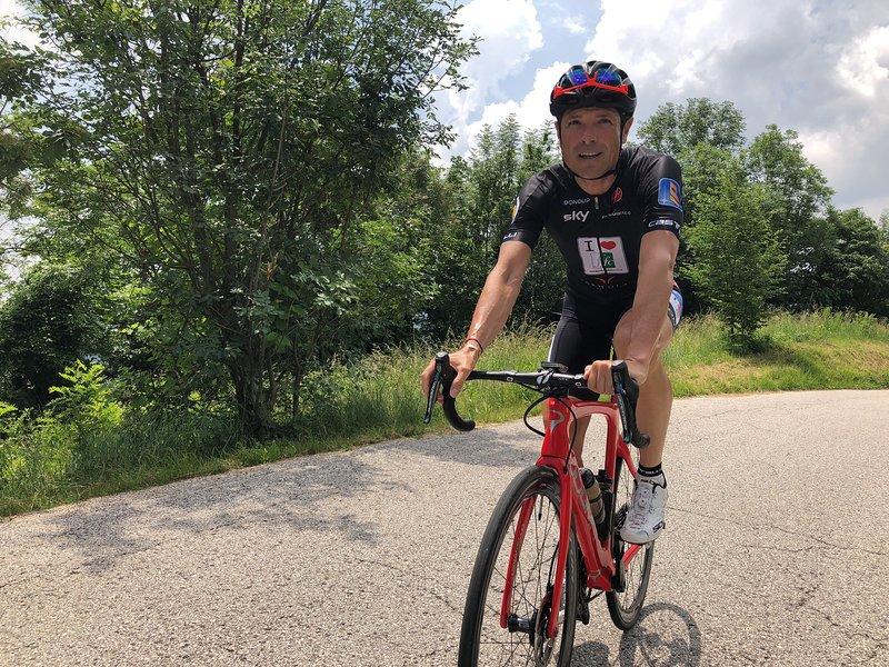 Matteo Marzotto bici