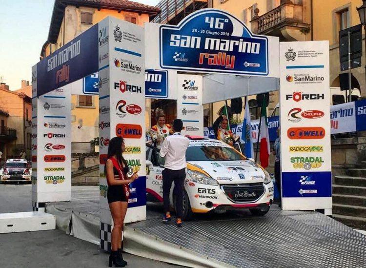 A San Marino Somaschini – Andreis prime in classifica rosa