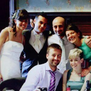 Paolo e Giulia con amici