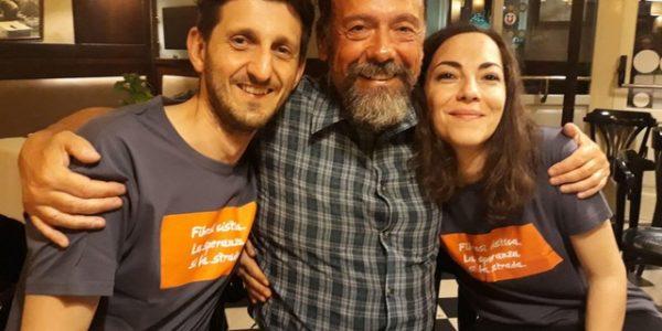 Paolo con Mirko e Susy