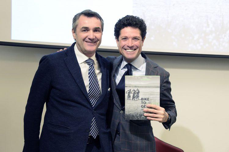 Verona, Marzotto presenta il nuovo libro sul Bike Tour a la Feltrinelli