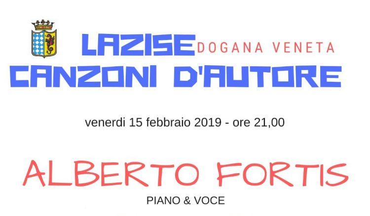 Lazise Canzoni d'autore: concerto Alberto Fortis per la ricerca sulla fibrosi cistica