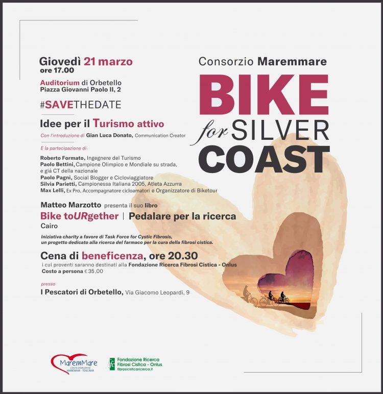 """""""Bike for Silver Coast"""": Consorzio Maremmare a sostegno della ricerca FFC"""