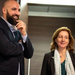 Fabio Sakara e Flaminia Malvezzi