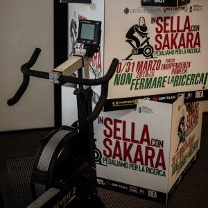 In sella con Sakara - Pedaliamo per la Ricerca