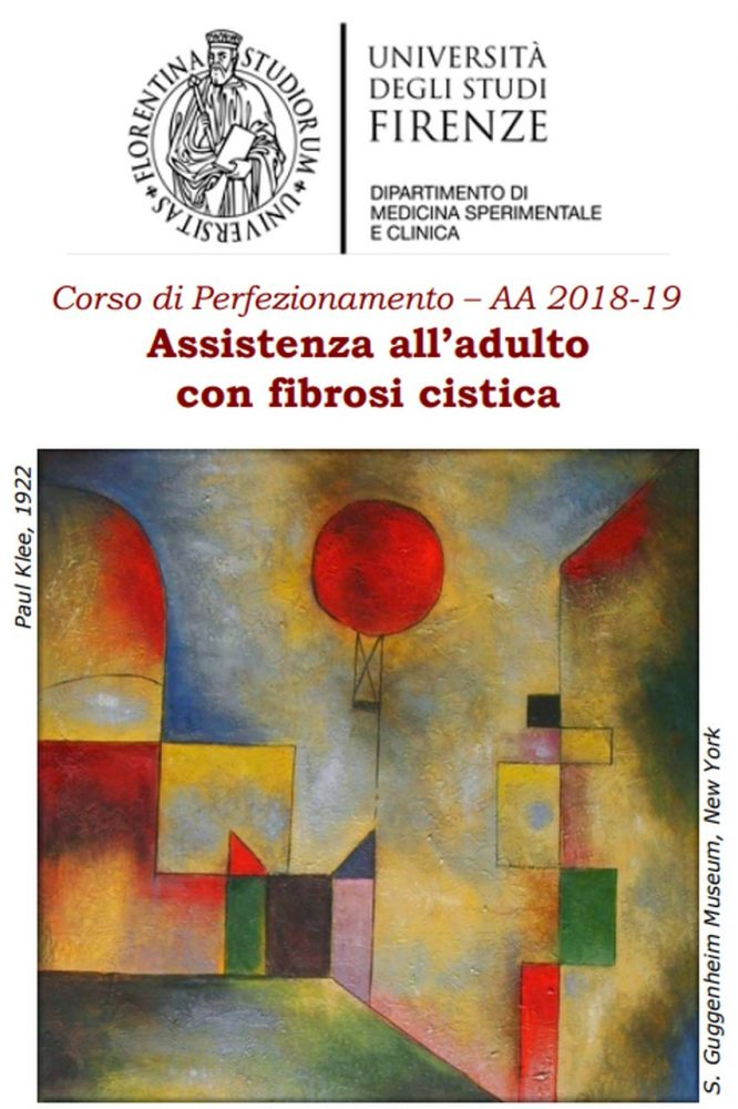 Assistenza all'adulto con fibrosi cistica: a Firenze corso di perfezionamento post-laurea