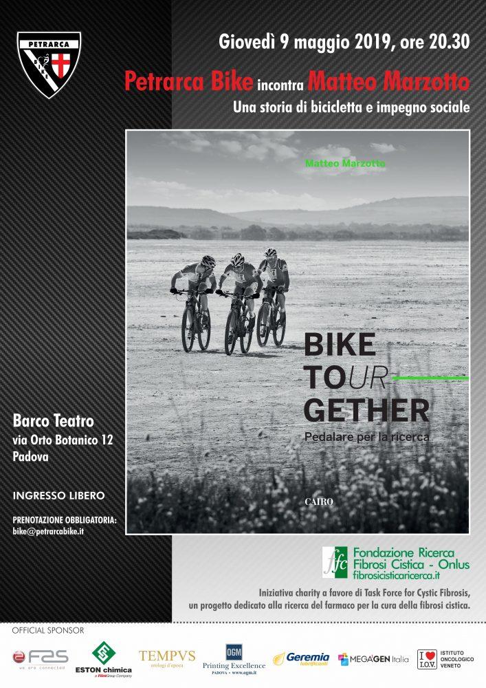 Petrarca Bike incontra il presidente FFC Matteo Marzotto