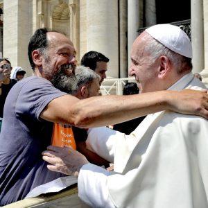 Paolo Previato incontra Papa Francesco