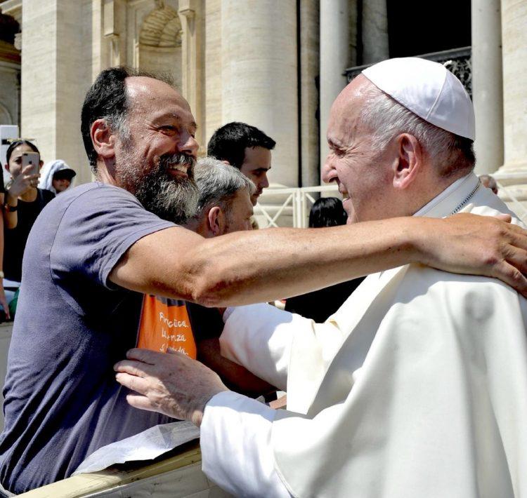 Il cammino di Paolo e l'incontro con il Papa