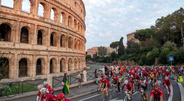 FFC è Charity Partner di Granfondo Campagnolo Roma, chi pedala solidale vince sempre!