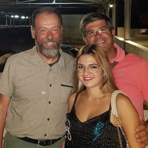 Paolo Previato con Daniele e Martina La Lota - Vittoria