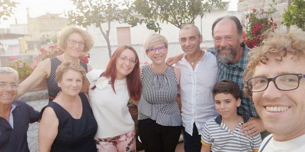 Paolo Previato con i volontari FFC pugliesi