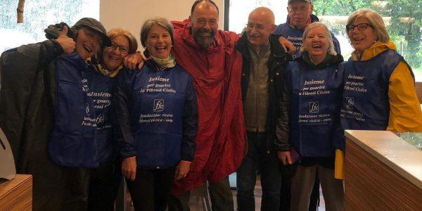 Paolo Previato e i volontari FFC di Montebelluna - La bottega delle donne