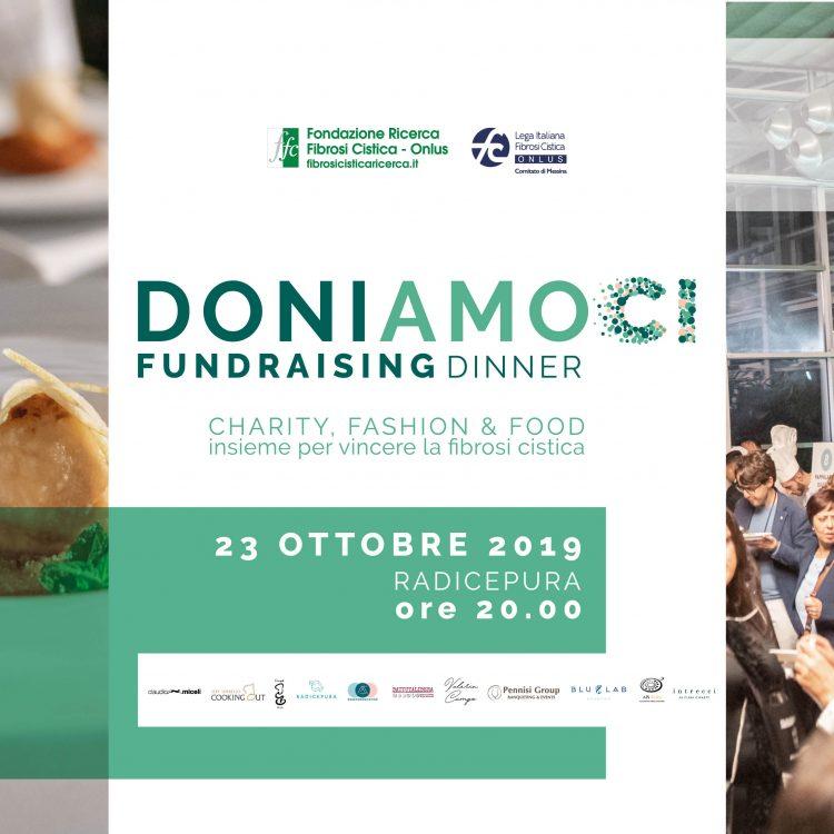 """Raccolti oltre 40.000 euro alla serata Fundraising Dinner """"Doniamoci"""""""