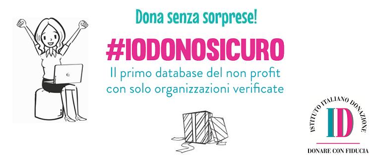 """L'Istituto Italiano della Donazione promuove la Campagna """"Dona senza sorprese"""""""
