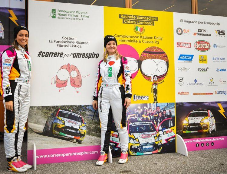 #CorrerePerUnRespiro 2019 chiude l'anno al Raceday Rally Terra e porta oltre 55.000 euro di donazioni alla ricerca FFC