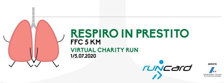 """""""Respiro in prestito"""" – FFC 5 KM Virtual Charity Run"""