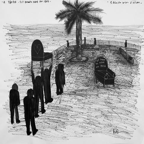 """La ricerca FFC """"A Tropea"""" con l'arte di Andrea Bianconi"""