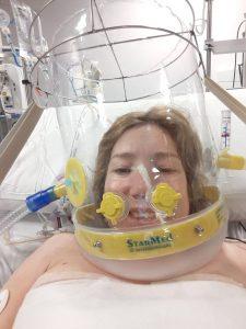Valeria in rianimazione