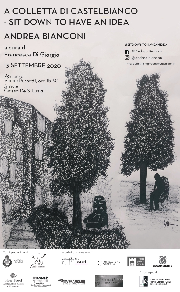 Colletta di Castelbianco: la poltrona d'artista di Andrea Bianconi sostiene la ricerca FFC