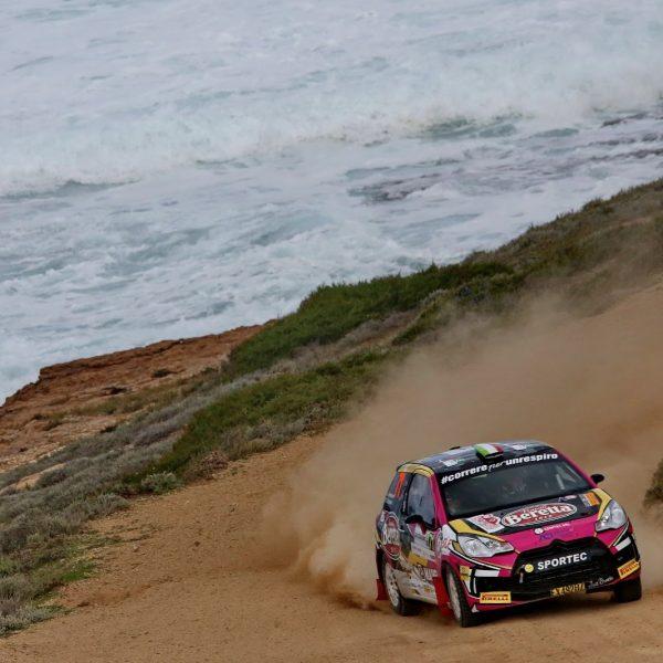 Rachele Somaschini Rally di Sardegna 2020