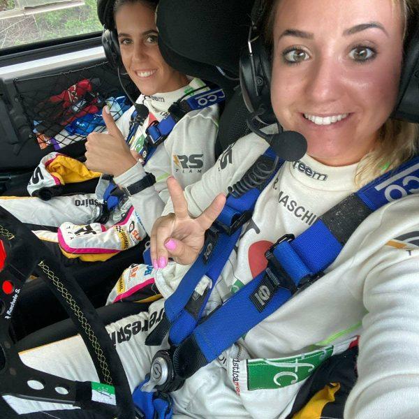 Rachele Somaschini e Giulia Zanchetta al Rally di Sardegna 2020