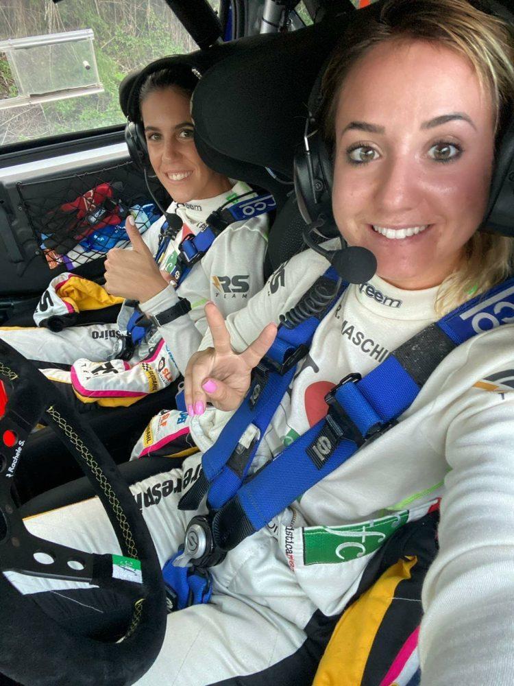 Dopo il Rally Sardegna per Rachele Somaschini Trofeo delle Merende e Campionato Europeo