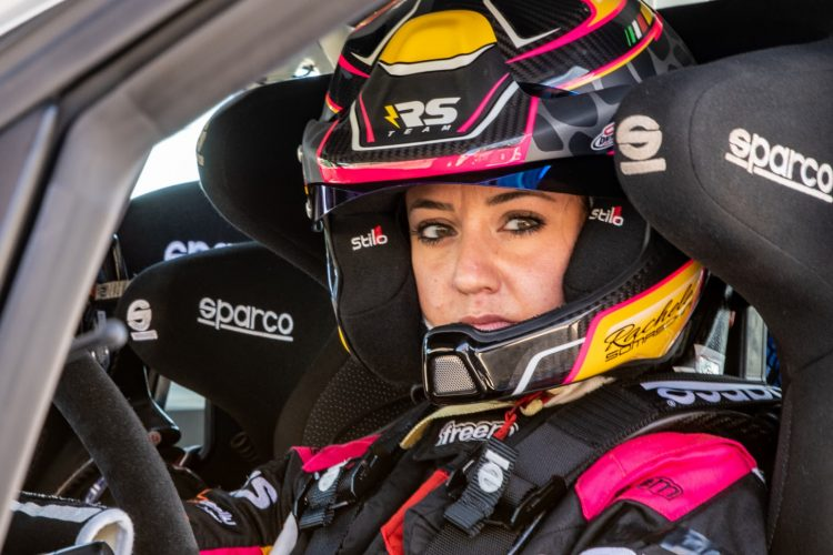 Rachele Somaschini al Tuscan Rewind per il finale del Campionato Italiano Rally