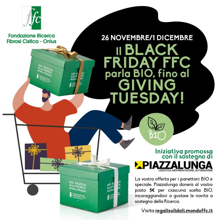 Black Friday e Giving Tuesday FFC parlano BIO