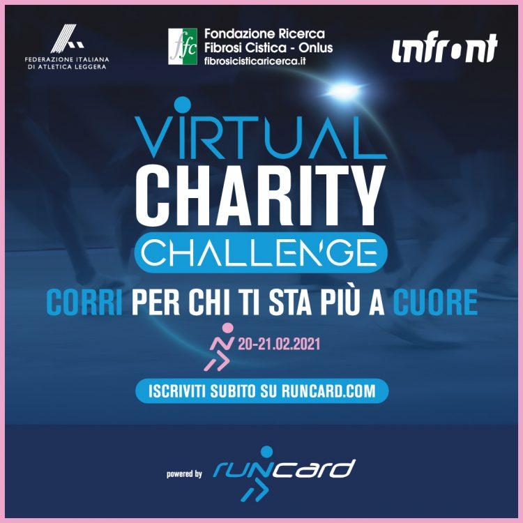 Quarta e ultima tappa della Virtual Charity Run: iscrizioni aperte